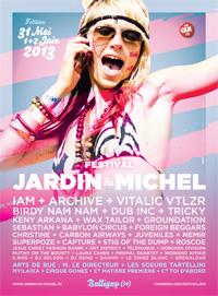 Festival jardin du michel 9 dition 2013 vendredi et - Fiche de lecture effroyables jardins michel quint ...
