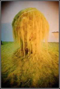 Michel Blazy sculptures vivantes contemporaines M5